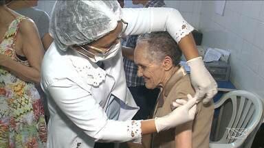 """Campanha de vacinação contra a gripe é iniciada em São Luís - Inicia neste sábado (12) o dia """"D"""" da campanha de vacinação contra a gripe. Uma grande mobilização será realizada nos postos de saúde de São Luís."""