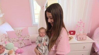 Empresária faz bonecas reborn que parecem bebês de verdade - No VC no PEGN, a empresária Ana Paula Guimarães conta como montou um negócio diferente e que está fazendo sucesso.