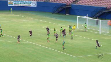 Brasileiro Feminino: Ferroviária fica no empate contra o Iranduba - Equipe foi até Manaus na quinta.