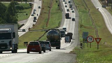 Motoristas abusam da velocidade nas estradas da região - Quase 7 mil multas foram aplicadas por excesso de velocidade.