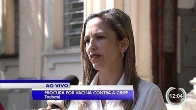 Cobertura de vacinação contra gripe na região está abaixo do esperado - Em São José apenas 35% do público-alvo se imunizou.