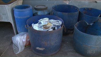 Comida boa vai para o lixo em cadeia de Umuarama - Presos recusam a marmita e boa parte da alimentação vai para o lixo.
