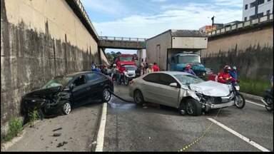 Motorista alcoolizado provoca acidente na BR 230 - PRF confirma que o motorista havia ingerido bebida alcoólica