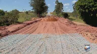 Ponte em obras na BR-265 deve ficar pronta até o dia 20 de maio - Ponte em obras na BR-265 deve ficar pronta até o dia 20 de maio