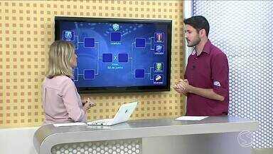 Esporte: confira os confrontos das quartas de final da Copa Rio Sul de Futsal - Vinicius Lima traz os destaques dos jogos.