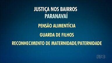Paranavaí recebe o programa Justiça nos Bairros neste sábado - É chance de resolver pendências jurídicas de graça.