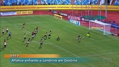 Atlético-GO enfrenta Londrina em Goiânia - Confronto ocorre na Série B do Campeonato Brasileiro.