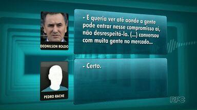 Gravação indica suposto direcionamento que beneficiaria a Odebrecht em uma licitação - A licitação seria para obras de duplicação da PR 323, entre Maringá e Guaíra.