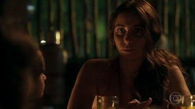 Luzia afirma para os filhos que seu relacionamento com Beto acabou - As crianças sentem falta do novo namorado da mãe