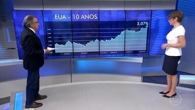 Carlos Alberto Sardenberg comenta alta do dólar no Brasil e no mundo - Alta dos juros pagos por títulos americanos tem atraído investidores