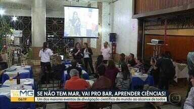 Iniciativa leva ciência para bares e restaurantes de Belo Horizonte - 'Pint of Science' é realizado na capital mineira e em mais de 20 cidades brasileiras.