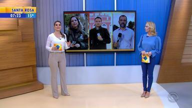 Confira a íntegra do Bom Dia Rio Grande desta quarta-feira (16) - Assista ao jornal.