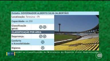 Estádios de futebol do Piauí passam por inspeção de segurança e conforto - Estádios de futebol do Piauí passam por inspeção de segurança e conforto