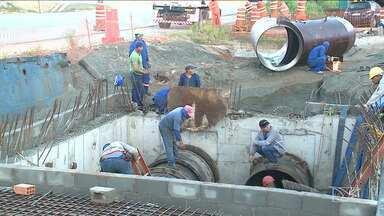 Italuís suspende abastecimento de água em São Luis por quatro dias - A parada no sistema Italuís vai durar três dias para que seja feita a interligação da nova adutora que irá substituir a tubulação antiga.