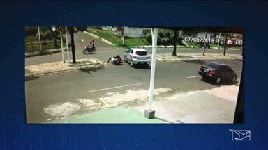Projeto de conscientização no trânsito é iniciado em Caxias - 'Maio Amarelo' é o projeto iniciado para conscientizar motoristas e pedestres das leis do trânsito.