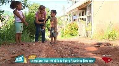 Calendário ESTV: prefeitura não cumpre promessa no bairro Agostinho Simonato - Novo prazo ficou para 17 de outubro.