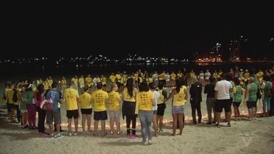 Alunos e familiares prestam homenagem à corredora Maria dos Remédios - Nesta quarta-feira (16) completa uma semana de sua morte.
