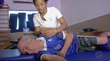 Associação oferece atendimento e interação a pacientes que sofreram AVC - Associação oferece atendimento e interação a pacientes que sofreram AVC.