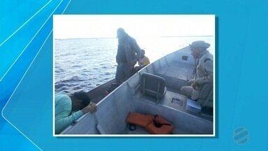 Dois pescadores são resgatados após ficarem perdidos em baía do Pantanal - O Corpo de Bombeiros atendeu a ocorrência.