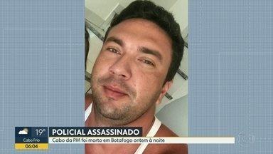Policiais Militares são assassinados em tentativas de assalto - Dois PMs foram assassinados nesta quarta-feira (16). Rafael Silva foi assasinado em Botafogo durante assalto. Em Cascadura, o sargento Robert foi morto em outra tentativa de assalto.