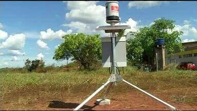 Equipamentos vão monitorar desastres naturais em Araguaína - Equipamentos vão monitorar desastres naturais em Araguaína