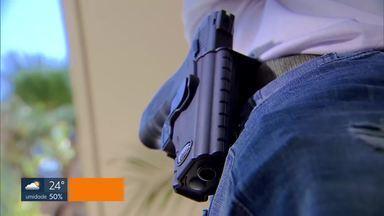 Pistolas Taurus devem ser recolhidas por risco de tiro acidental, diz MPDFT - De acordo com os promotores do Ministério Público, as armas, compradas em 2014, apresentaram muitos defeitos e precisam ser substituídas o quanto em até nove meses.