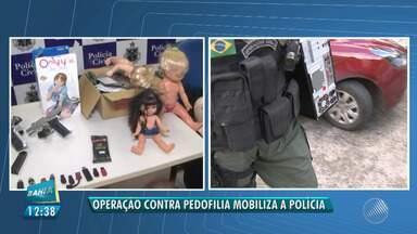 Operação de combate à pedofilia cumpre 26 mandados no estado - A operação 'Luz da Infância Dois' acontece em 24 estados e no Distrito Federal. Na Bahia, foram cumpridos 26 mandados de busca e apreensão.