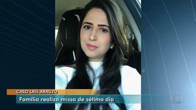 Missa homenageia advogada morta a tiros enquanto tentava estacionar, em Goiânia - Crime ocorreu no Setor Alto da Glória, na região sul da capital.