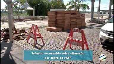 Vias da região central de Corumbá serão interditadas - A avenida estará com a passagem de veículos restrita.