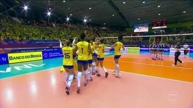 Brasil bate a Sérvia e conquista a segunda vitória na Liga das Nações - Brasil bate a Sérvia e conquista a segunda vitória na Liga das Nações