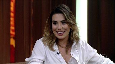 Naiara Azevedo fala sobre sua participação no 'Show dos Famosos' - Bial elogia performance da cantora como Katy Perry