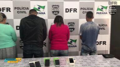 Ladrões de celular são presos em Curitiba - Quatro pessoas que estavam com celulares furtados foram detidas, uma delas teria roubado 119 aparelhos.