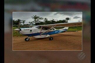 Avião Cesna C-210 que decolou de Itaituba com destino a Manaus caiu ontem - A aeronave só foi encontrada no final da tarde de ontem.