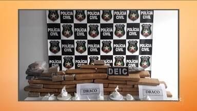 Operação Conexão 2 cumpre mandados contra tráfico de drogas na Grande Florianópolis - Operação Conexão 2 cumpre mandados contra tráfico de drogas na Grande Florianópolis
