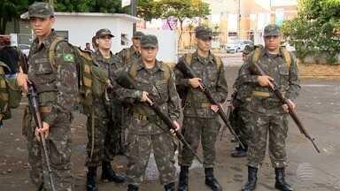 Tiro de Guerra realiza simulação em Presidente Prudente - Iniciativa visa o treinamento de defesa territorial.