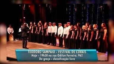 Confira as atrações da Agenda Cultural desta sexta-feira - Eventos em Osvaldo Cruz e Teodoro Sampaio fazem parte da programação.