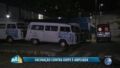 Locais de vacinação contra a gripe H1N1 são ampliados na capital baiana - Além dos postos de saúde, a dose vai ser aplicada em locais de grande circulação de pessoas.