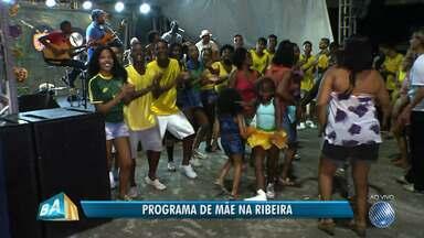 TV Bahia promove 3ª e última edição do projeto 'Programa de Mãe', em parceria com o Sesc - A banda Batifun anima os participantes. Confira.