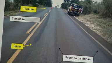Laudo afirma que motorista teve culpa no acidente que matou seis pessoas em Lunardelli - O acidente foi no começo do mês na PR-082. Seis pessoas morreram e duas ficaram feridas.
