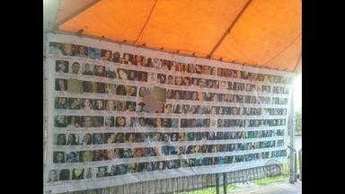 Banner com as fotos das vítimas do incêndio na boate Kiss é vandalizado em Santa Maria - As famílias foram avisadas sobre esse vandalismo no início da noite de ontem. Um boletim de ocorrência deve ser registrado na Polícia Civil.