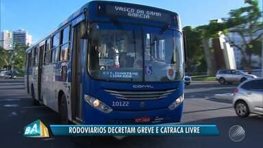 Rodoviários decretam greve por tempo inderterminado em Salvador - A categoria e o donos das empresas de ônibus não chegaram a um acordo.