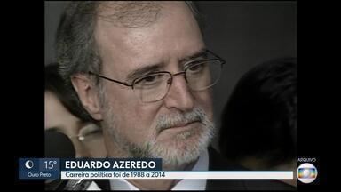 Azeredo disputou várias eleições e ocupou cargos importantes em sua carreira política - Ele foi o primeiro político a ser condenado pelo mensalão tucano. Ele exerceu 25 anos de vida pública.