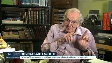 Jornalista Alberto Dines morre em São Paulo aos 86 anos - Fundador do Observatório da Imprensa teve um gripe que evoluiu para pneumonia. Ele vai ser enterrado amanhã no cemitério de Embu das Artes.