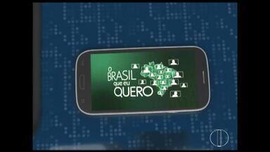 Que Brasil você quer para o futuro? Saiba como enviar o seu vídeo - A Globo quer ouvir o desejo dos brasileiros de todas as cidades do país e vai exibir as mensagens nos telejornais da emissora. Para gravar e enviar o seu recado para 'o Brasil que eu quero', confira o passo a passo.