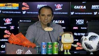 Inter anuncia contratação de Rodrigo Caetano como executivo até 2019 - Após deixar o Flamengo em março, profissional substituirá Jorge Macedo no cargo pelo colorado.