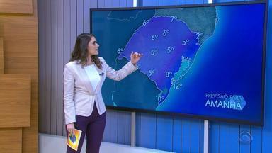 Tempo: quinta-feira (24) será gelada, mas com sol entre nuvens no RS - Veja como fica a previsão.