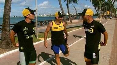 Alagoano se prepara para o Ironman - Confira a reportagem.