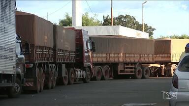 Greve de caminhoneiros suspende produção agrícola em Balsas - Desde que começou a manifestação dos caminhoneiros não tem mais combustível em nenhum posto.