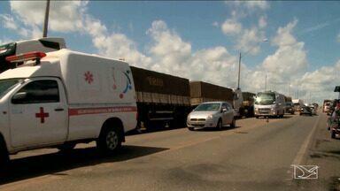 Frota de transporte coletivo é reduzida em Imperatriz - Diminuição da frota se deve a greve dos caminhoneiros na cidade.