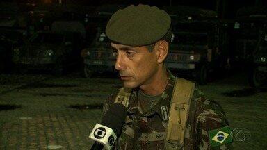 Exército oferece apoio para trazer combustível de Suape para o aeroporto de Alagoas - Ação começou durante a tarde deste sábado (26).